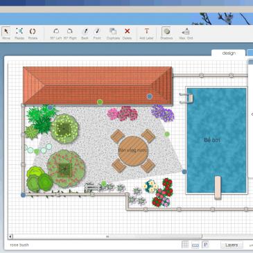 Giới thiệu phần mềm thiết kế sân vườn 3D miễn phí