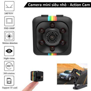 Cube camera siêu nhỏ night vision FHD quay đêm siêu nét